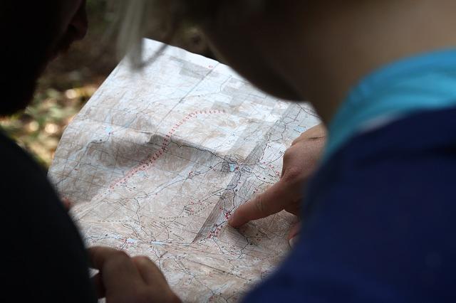 orientace v mapě