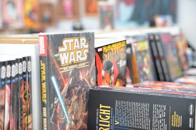 knihy star wars