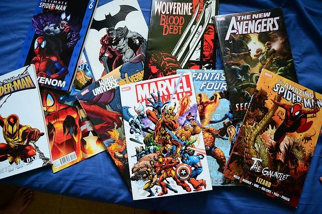 sbírka komiksů