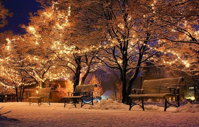 Japonsko v zimě
