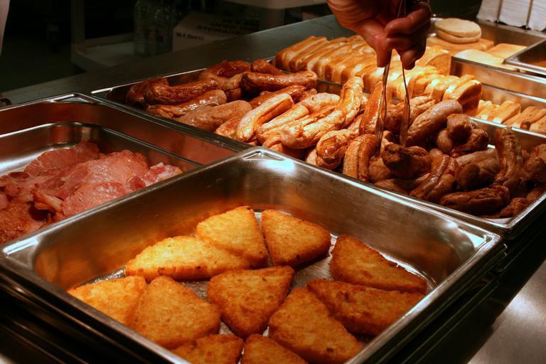 výdej jídla